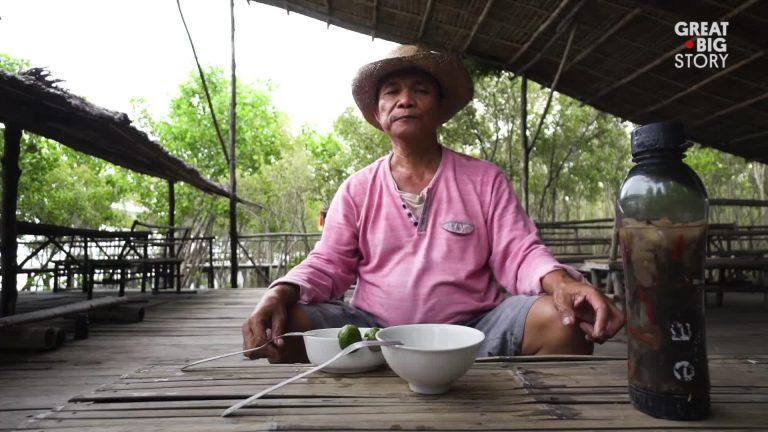 کرم خوراکی تامیلیو غذای محبوب فیلیپینی ها