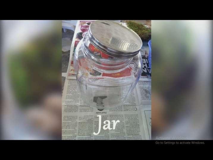 ظرف شیشه ای برای ساخت تراریوم (باغ شیشه ای)