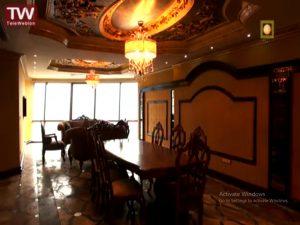 نمای داخلی هتل احد عظیم زاده