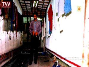 احد عظیم زاده کارگاه فرش بافی راه اندازی میکند