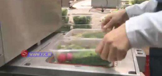 کارآفرین با راه اندازی کارگاه پاک کردن سبزی