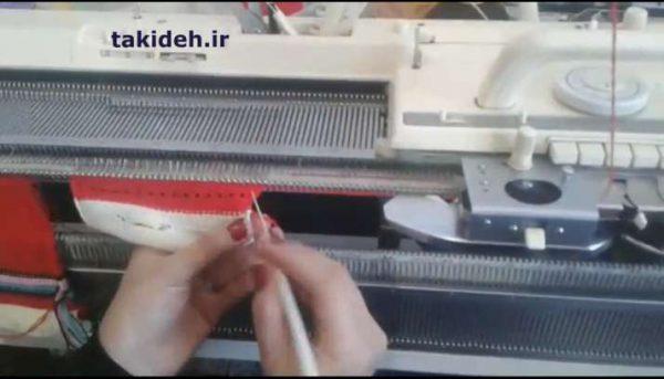 آموزش بافت دست عروسک با ماشین بافتنی