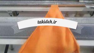 آموزش بافت روسری عروسک با ماشین بافتنی