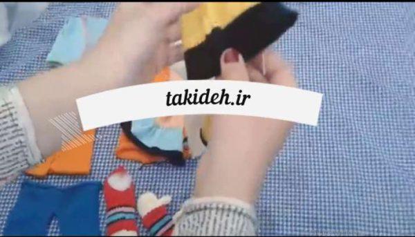 آموزش نحوه اتصال دست های عروسک ها