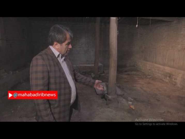 سوختن مرغداری کوچک عزیز حسینی