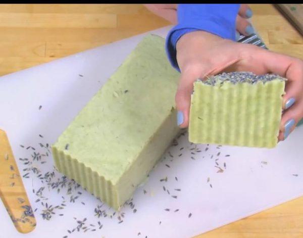 آموزش ساخت صابون خشخاش در خانه