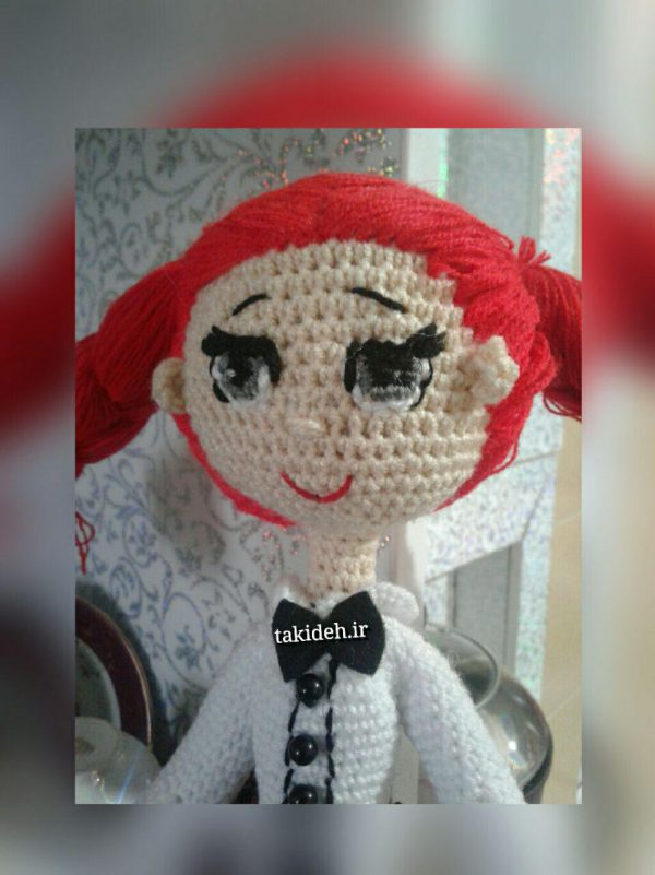 خرید پستی عروسک دست بافت جودی آبوت