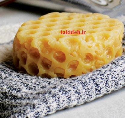 طرز تهیه صابون باتر میلک Buttermilk Honeycombs))