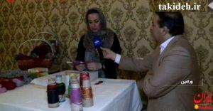 اختراع قلم بافنده در ایران