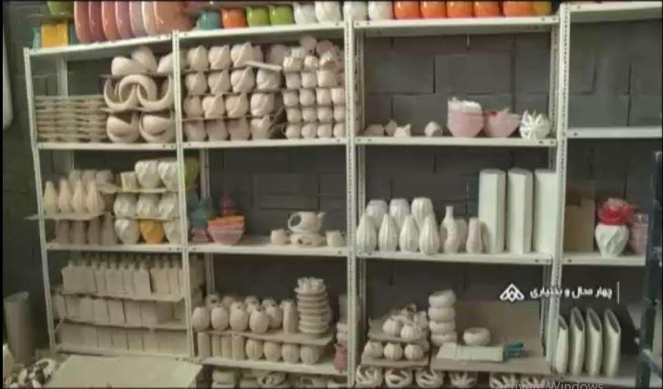 کارگاه تولید ظرف های تزیینی سرامیکی