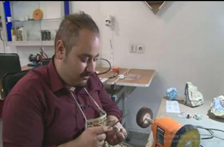 کارآفرینی با راه اندازی آموزشگاه گوهر تراشی