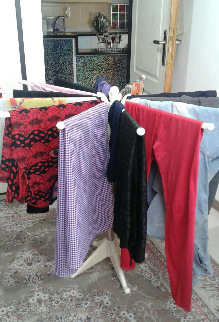 بند رخت مدور تک ایده بهترین بند رخت آپارتمانی در ایران