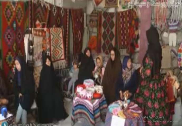 کارآفرینی با احیای هنرهای دستی روستاییان
