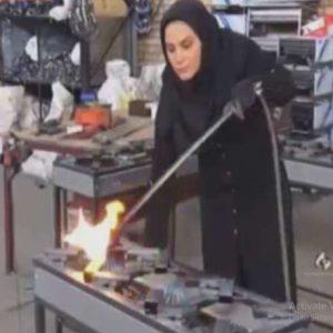 کارآفرینی با تولید لوازم گازسوز آشپزخانه