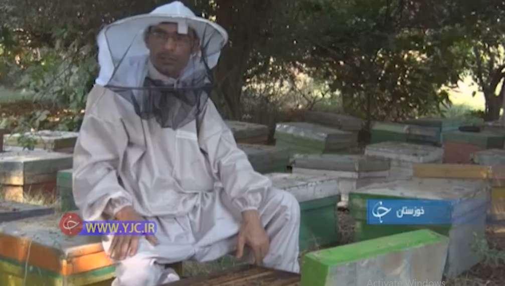 ایزدپرست، زنبوردار شوشتری