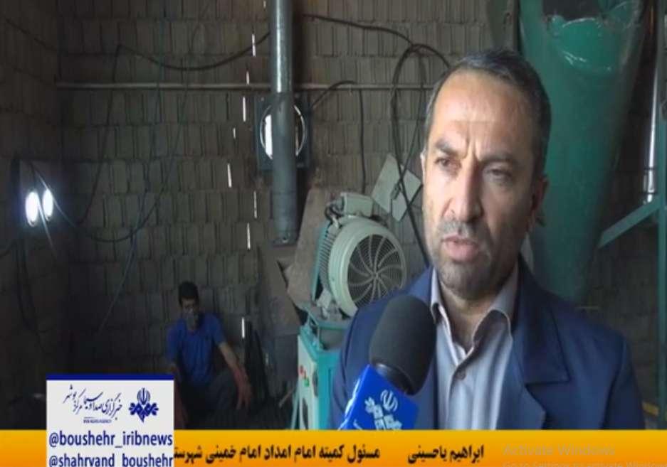 ابراهیم یا حسینی مسول کمیته امداد تنگستان