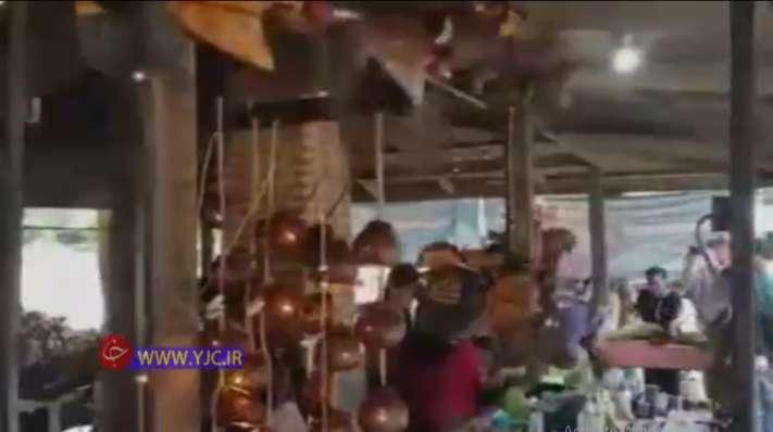رونق بازار صنایع دستی مرتبط با میوه نارگیل