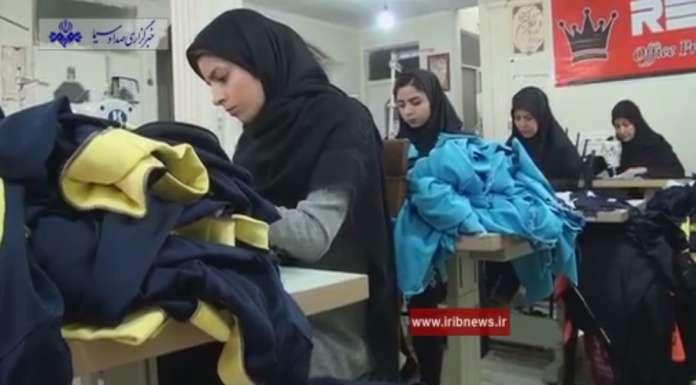 اشتغالزایی با تولید لباس های ورزشی زنانه