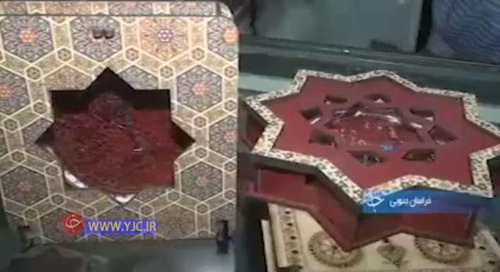 جعبه های بسته بندی چوبی زعفران