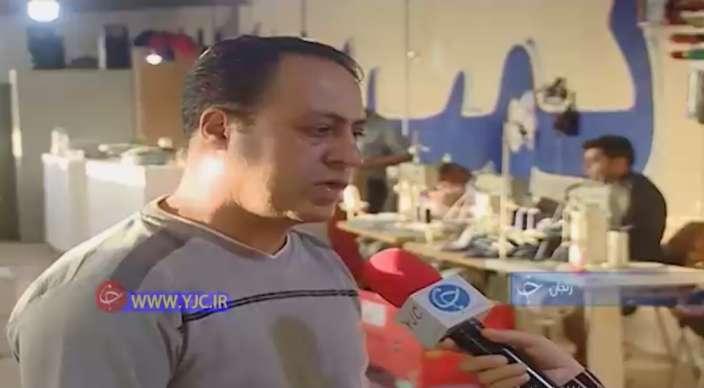 آقای موسوی کارآفرین در حوزه تولید کفش
