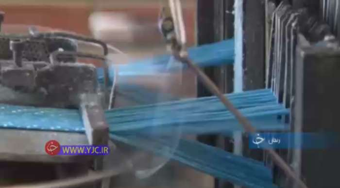 تولید نخ های مورد استفاده در پارچه فیلتر