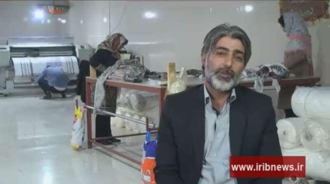 آقای ملکشاهی تولید کننده روسری ایرانی