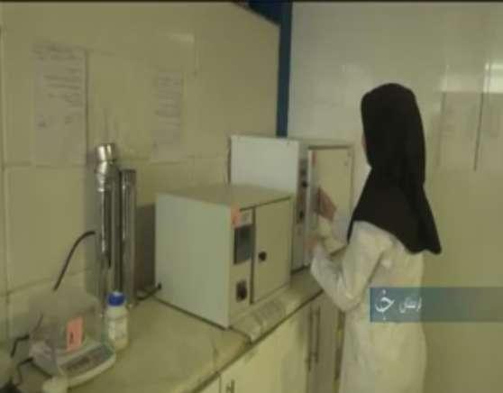 آزمایشگاه کنترل کیفیت محصولات فراوری کنجد