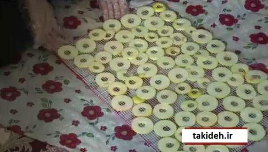 آموزش خشک کردن میوه در خانه