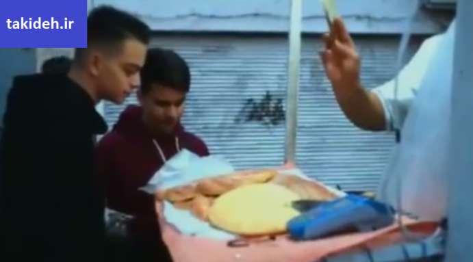 ایده نانوایی سیار در تهران