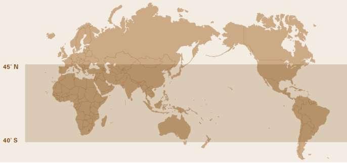 مناطقی که مگس سرباز سیاه در آن یافت می شوند