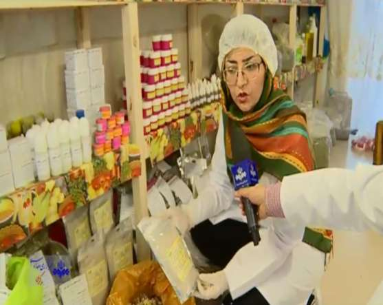 خانم شریفی کارآفرین در حوزه تولید داروهای گیاهی
