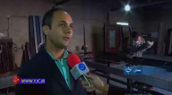 آقای عزیزی تولید کننده درب های ضد سرقت