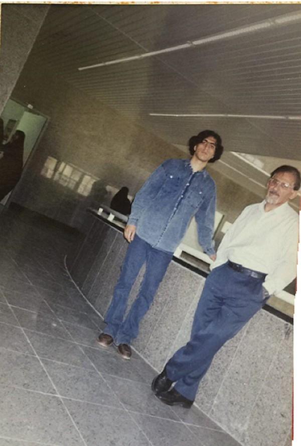حسن بسطامی و استاد گرانقدر زنده یاد دکتر تقی پور