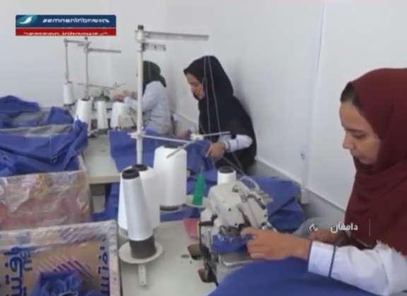 کارگاه تولید البسه و گان های بیمارستانی