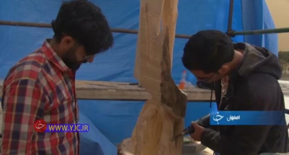 آموزش پیکرتراشی روی چوب