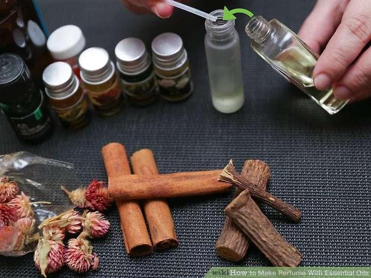 افزودن رایحه فوقانی در آموزش ساخت عطر