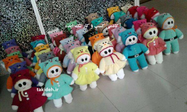 عروسک های فسقلی هدیه خاص برای سیسمونی