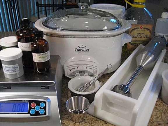 دستور ساخت صابون فرایند داغ