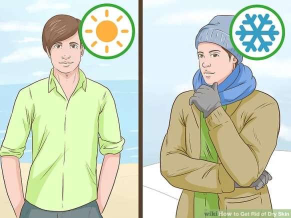محافظت از پوست خشک در محیط باز