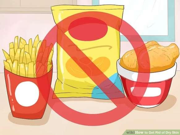 اجتناب از خوردن غذاهای چیپسی و شور