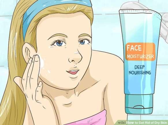استفاده از مرطوب کننده در زمانی که پوست نمدار است