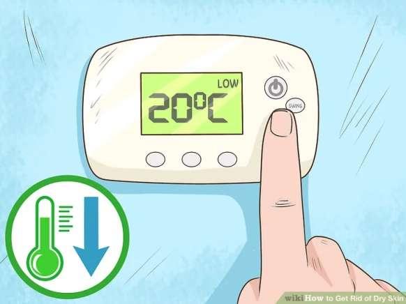 در مان پوست خشک: پایین آوردن دمای محیط