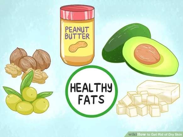 تغذیه برای معالجه پوست خشک