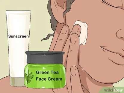 کرم چای را قبل از استفاده از ضد آفتاب استفاده کنید
