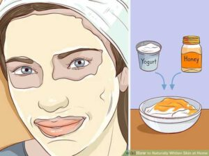 استفاده از ماسک عسل و ماست برای سفید کردن پوست در خانه