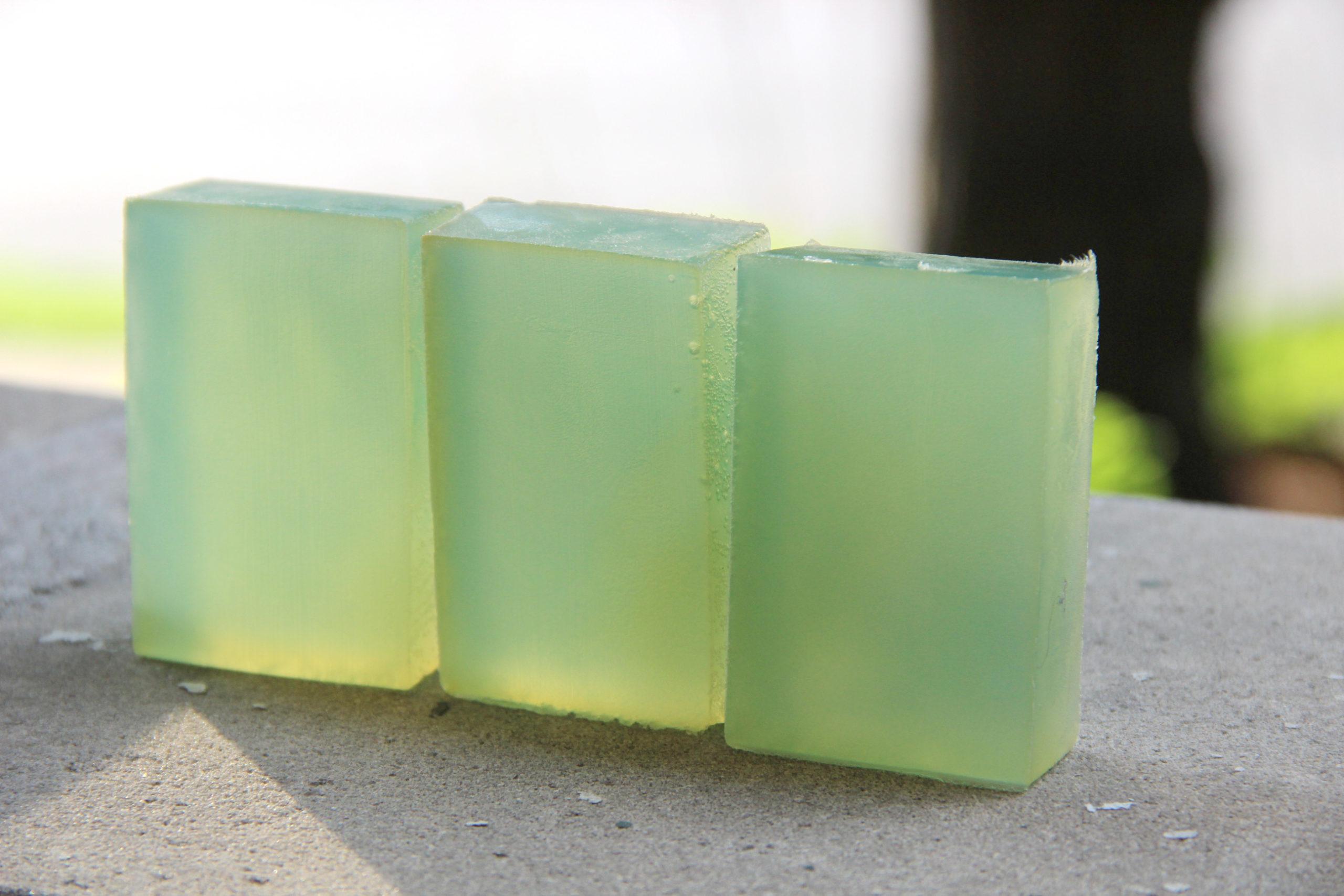 شفافیت در صابون فرایند گرم