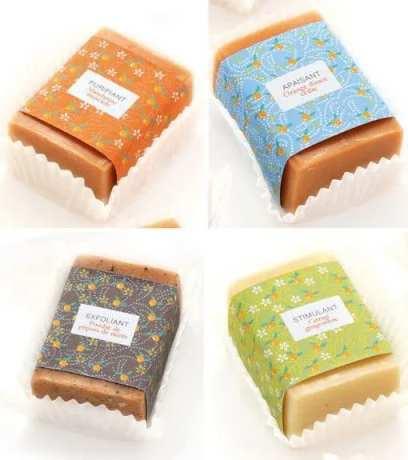 ایده استفاده از آستر کاپ کیک در بسته بندی صابون