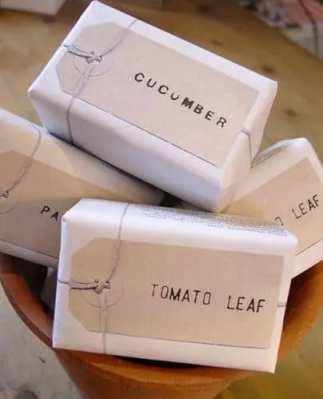 استفاده از برچسب های کرافت جهت بسته بندی صابون خانگی