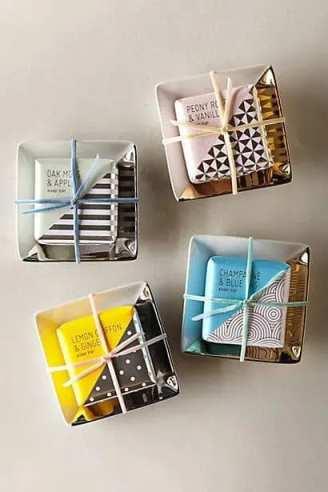 ایده استفاده از ظرف صابون در بسته بندی