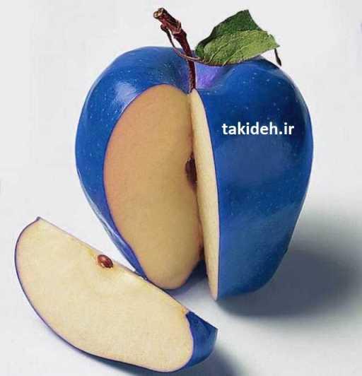 ایده تولید سیب آبی یا میوه زنگوله ای (سیب رنگی)
